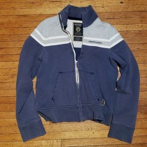 Abercrombie & Fitch l Zip Up Sweater
